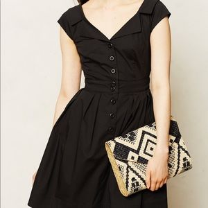 Nanette Lepore Black Astrid Short Dress Size 8